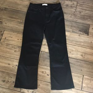Madewell Jeans - Madewell high rise cali Demi boot black jeans 28